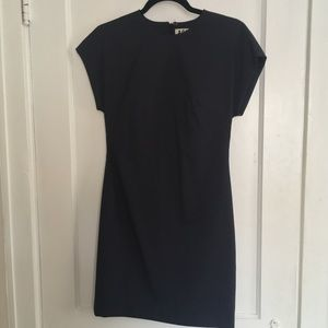ACNE FITTED MINI DRESS WITH BACK ZIP